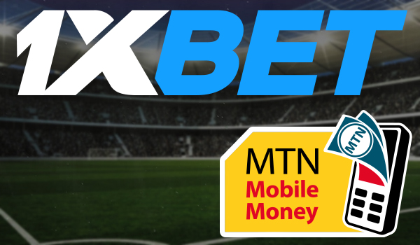 Withdrawal from 1xBet via MTN MOBILE MONEY